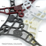 Original colors for Cast In Style ceiling-mounted airer