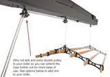 Add a second double pulley to your Cast In Style clothing airer