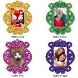 Photo Frame Glitter Candy Ornament