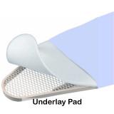 Optional industrial grade polyester felt underlay padding