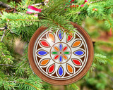 Hex Wood! Daddy (03in) Personalized PA Dutch Hex Sign Ornament