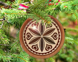Hex Wood! Love (03in) Personalized PA Dutch Hex Sign Ornament