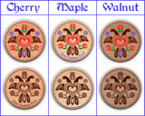 Hex Wood! Eagle (12in) Personalized PA Dutch Hex Sign
