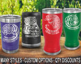 (PCB) Mighty Tiger Polar Camel Travel Beer Tumblers w/ FREE Personalization