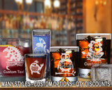 (GLC) Party Fun Whiskey and Shot Glasses w/ FREE Personalization
