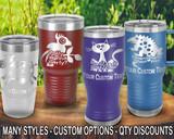 (PCC) Party Fun Polar Camel Travel Tumblers w/ FREE Personalization