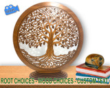 Entangled Tree Of Life! (16-20in)  w/ Tiered-Oval Stand