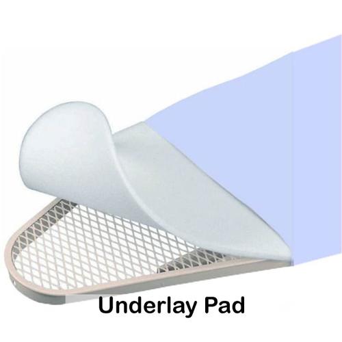 Industrial grade polyester felt underlay