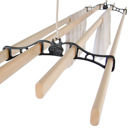 Traditional 4-Slat Cast Iron Airer