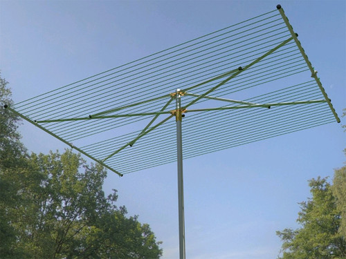 Breezecatcher 204 Mid-Capacity Parallel Outdoor Clothesline