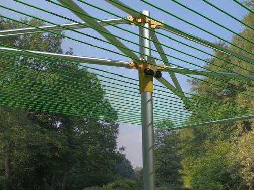 Breezecatcher TS4-36M Top-Spinner Outdoor Umbrella Clothesline …