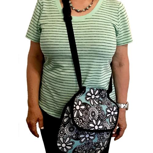 Clothespin Bag Satchel Style w/ Adjustable Belt/Strap