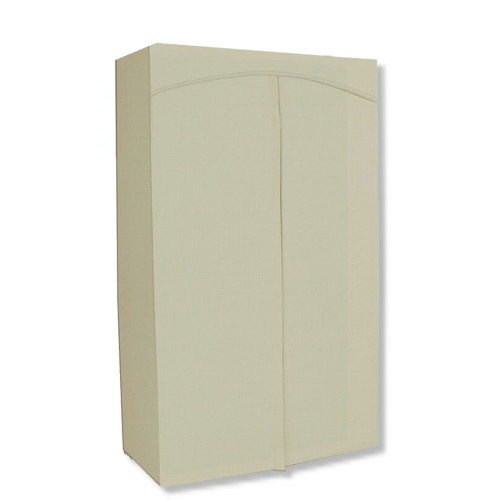 Wardrobe Cover fits existing 30Wx14Dx60H Rack - Natural