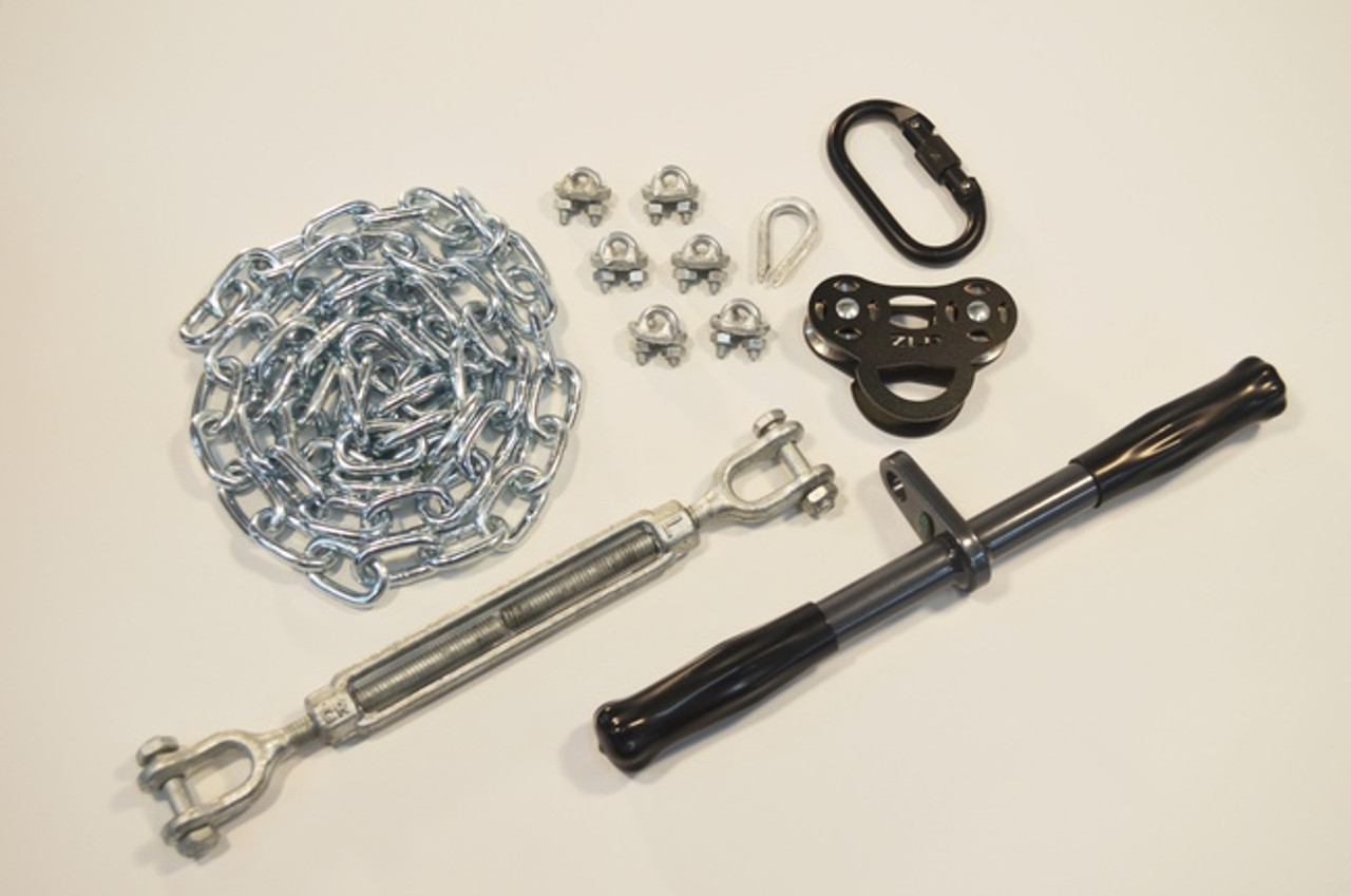 Picture of: Basic Zip Line Kit Buyswings Com