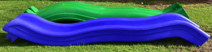 Roto Molded Wave Slide - Commercial