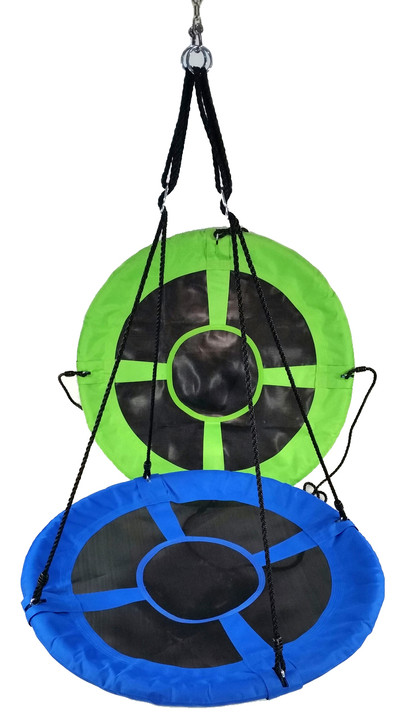 "40"" Saucer Swing With Adjustable Ropes - Residential"