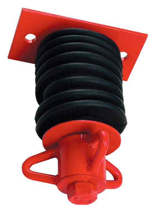 Commercial Tire Swivel 3 Prong Two Hole Plate