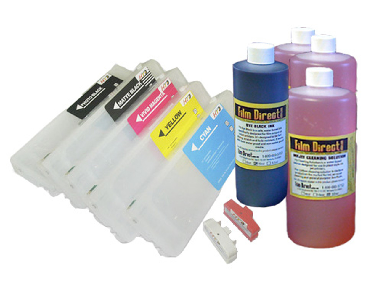 Refillable Ink kit for Epson Stylus Pro 7700/9700