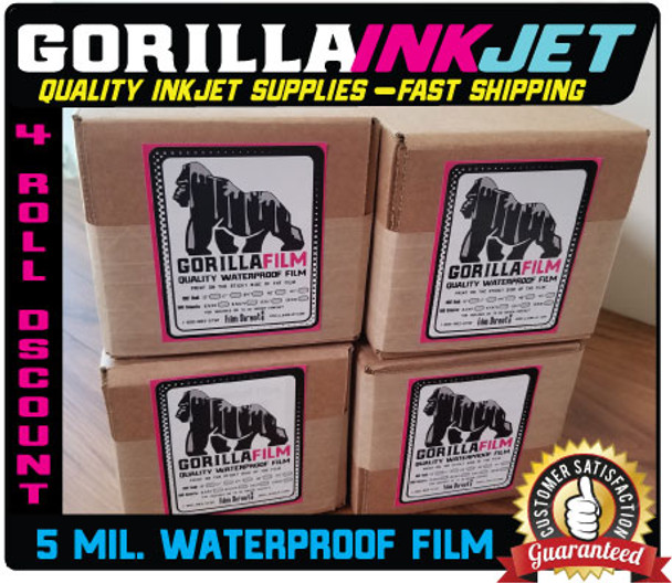 "44""x100' Rolls Waterproof Film- Bulk Pricing"