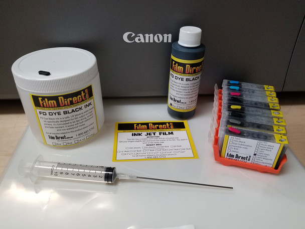 Canon Pro-100  Ink Kit, Film and RIP Combo (No Printer)