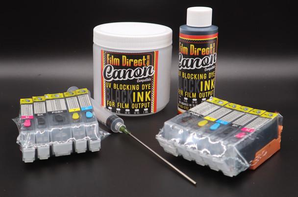 Canon ix6820 Deluxe Completely Black Ink KIt -PGI-250, CLI-251 Chipset