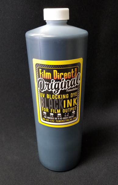 Film Direct Original Dye Black Ink- Choose Size