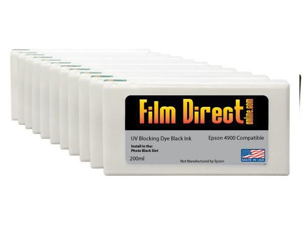 4900 Dye Black Ink Cartridges (Singles) -