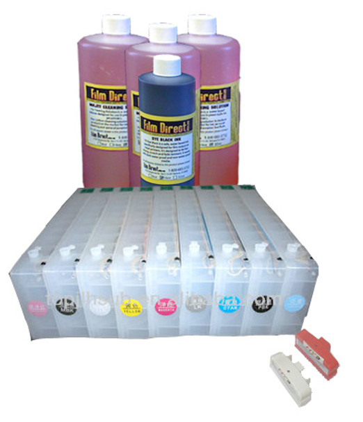 Refillable Ink kit for  7890/9890