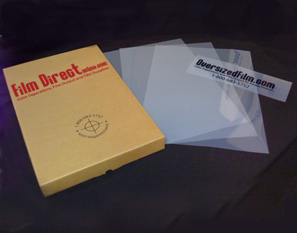 Film Direct - 100 Sheet Packs of Waterproof Film -All Sizes