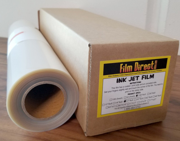 100 ft Rolls of Water Proof Film- All Sizes
