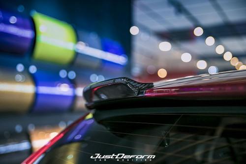Roof Spoiler Lip, Volvo V60