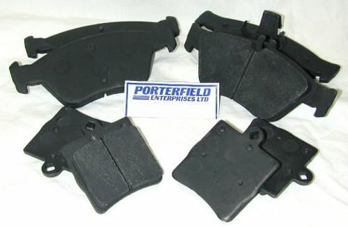 Porterfield Enterprises VP-131002 Porterfield R4-S Rear Brake Pads 320/340mm, Volvo S60/V60, S90/V90, XC60/XC90