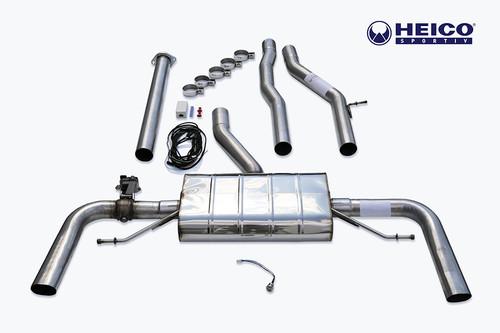 HEICO SPORTIV H2521645 Heico Sport Exhaust System w/ Electronic Flap Control, Volvo S60/V60 T6/T8 Hybrid
