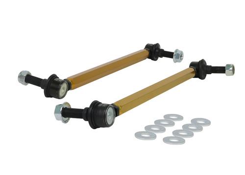 Whiteline KLC180-335 Whiteline Heavy Duty Adjustable Front Sway Bar End Links, Volvo S60 V70 S80 XC90