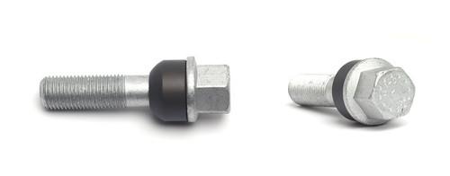 H and R HandR Wheel Lug Bolts, Ball Seat
