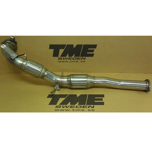 TME 2086-506150 TME Performance Downpipe, Volvo S60/V60 T5 5-Cylinder Models