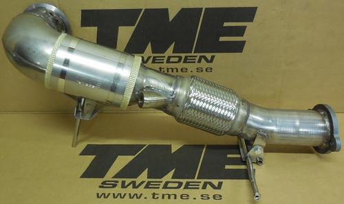 TME 2086-406350 TME Downpipe, Volvo S60/V60 Polestar 2.0L 4-cyl VEA Engine