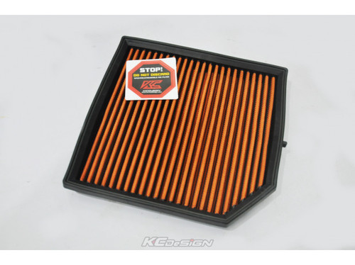 KCDesign KC-AF-VL190141 KCDesign High Performance Dry Flow Drop-in Filter, Volvo XC40