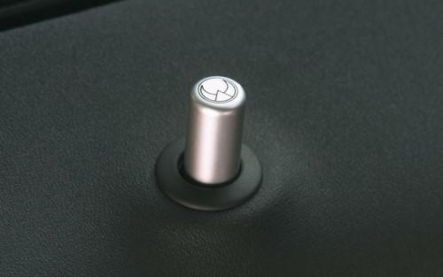 HEICO SPORTIV H8349000 Heico Aluminum 4-piece Door Pin Set, Volvo 850, S/V70, S60/V70, S80, XC90, S40/V50
