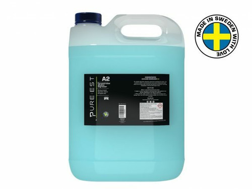 Pureest A25000 A2 Alkaline Degreaser Concentrate - 5 Liter