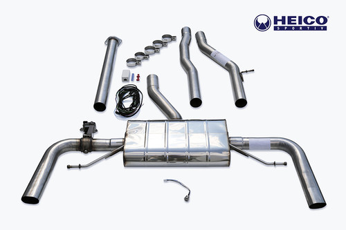 HEICO SPORTIV H2521639 Heico Sport Exhaust System w/ Electronic Flap Control, Volvo XC60 T6/T8 eAWD