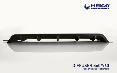 HEICO SPORTIV H8915665 Heico Rear Diffuser, Volvo S60/V60 R-Design/Polestar Engineered