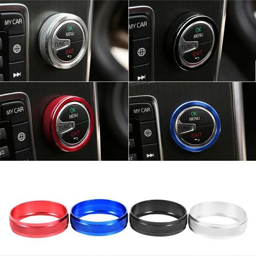 ViVA Performance Aluminum Radio/Climate Knob Covers, P3 S60/V60, XC60, S80, V70/XC70