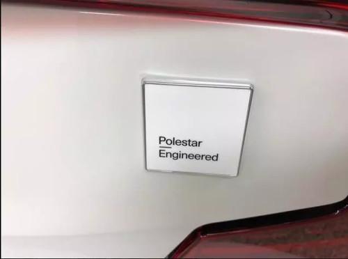 Genuine Volvo VP-124107 Genuine Volvo SPA S60 Rear Emblem, Polestar Engineered text