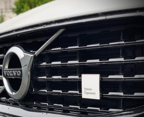 Genuine Volvo VP-124116 Genuine Volvo SPA XC60 Front Emblem, Polestar Engineered text
