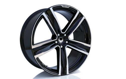 HEICO SPORTIV H07710214B Heico Volution V Wheel, Diamond-Cut Black 21x9.0, 2021 Polestar 2