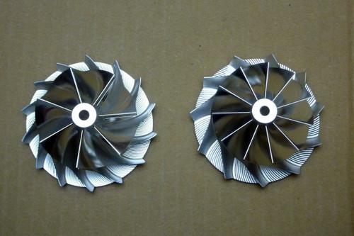 ViVA Performance VP-063006 Turbo Billet Super Hybrid K24 Compressor Wheel, Volvo S60R/V70R