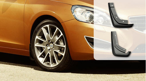 Genuine Volvo Mud Flaps Rear, V60 2014-2018 (31359685)