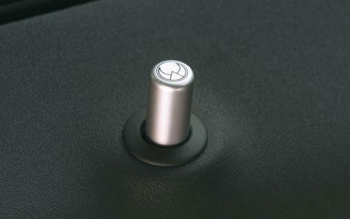 HEICO SPORTIV H8349001 Heico Aluminum 2-piece Door Lock Pin Set, Volvo C30/C70