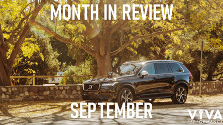 Month in Review - September